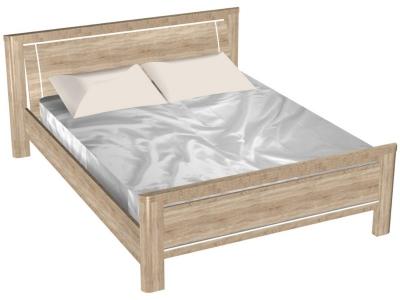 Кровать Магнолия Дуб бардолино без основания
