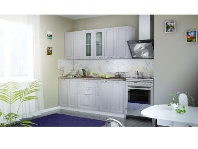 Кухня Патина серебро 1800